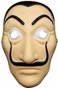 PTCMART La Casa De Papel Mask Money Heist Salvador Dali Face Mask Party Mask(Pack of 1)