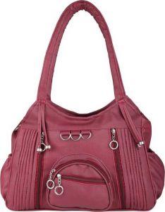 Aj Style Elegant Design, Attractive Color & Best In Quality Material Shoulder Bag For Girls & Women (Maroon)