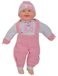 Laughing Baby Stuffed Soft Plush Toy, Non-Toxic And Soft Fabric (36Cm) (Pack Of 1)