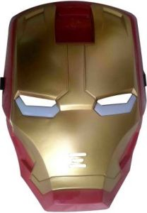 PTCMART LED Avengers Iron man FACE MASK For kids Party Mask  (Multicolor, Pack of 1)