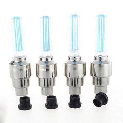 ZMO LED Flash Light Lamp for Bike & Car Tyre Wheel Valve Sealing Caps