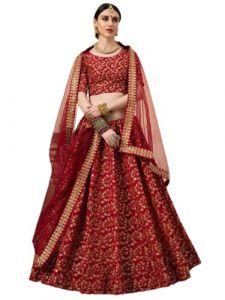 FashionableSelf Desing Heavy Embroidery Work Lehenga Choli For Women's