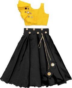 Shrungar Dresses Embroidered Lehenga Choli Ethnic Wear Best for Girls (Multicolor) (Pack of 1)