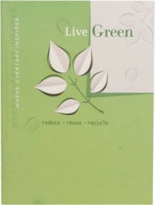 Toss 2021 B5 Diary Ruled 165 Pages (Live-Green) (Pack Of 1)