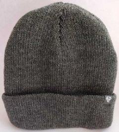 Livster Solid Woolen Winter Skull Cap For Boys (Grey)