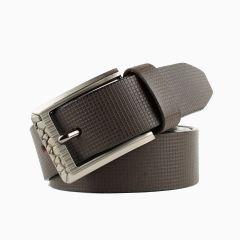 Winsome Deal Brown Leather Formal Belt For Men's (Pack of 1)