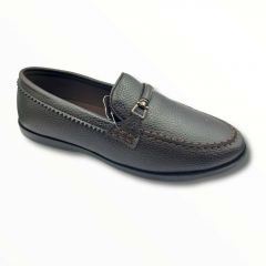 Stylish Goose Formal Loafers Shoes For Men (Brown) (Loafers 7004)