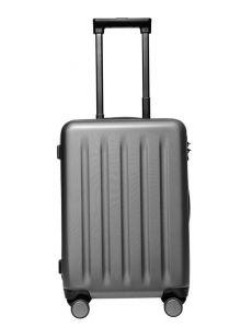 Lombard Soft Side Cabin Luggage Black 20 Inch Trolley Bag