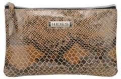 ASPENLEATHER Wristlet Bag for Womens (Orange)
