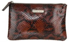 ASPENLEATHER Wristlet Bag for Womens (Red)