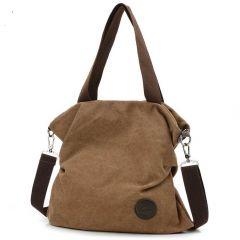 Fashionable And Stylish Irregular Canvas Crossbody Handbags For Women's & Girl's (Pack of 1)