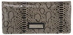 Splash USA Pure Leather Wallet For Women (Silver)
