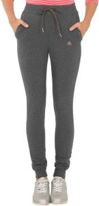 JOCKEY Solid Cotton Lycra Blend Track Pants For Women's (Grey) (Pack of 1)
