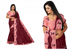 Bagrecha Creation Madhrani, Dola Silk Fabric Saree with Bangalore Silk Fabric Blouse (Saree: 5.5 MTR) (Blouse: 0.80 MTR)