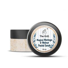 The EnQ Magical Moringa and Walnut Facial Scrub (100gm)