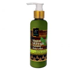 The EnQ Magical Moringa Hydrating Body Lotion, Natural Moringa Extract For Long Lasting Hydration Face And Body Care For 24 Hours Moisturizing (200 mL)