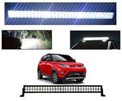 After Cars Mahindra KUV 100 22 Inch 40 LED Roof Bar Light, Fog Light