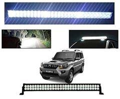 After Cars Mahindra Scorpio Old 22 Inch 40 LED Roof Bar Light, Fog Light