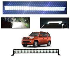After Cars Mahindra TUV 300 22 Inch 40 LED Roof Bar Light, Fog Light