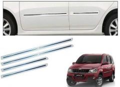 After Cars Mahindra Xylo Car White Side Beading Set of 4