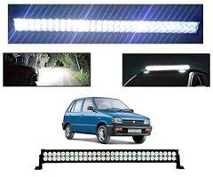 After Cars Maruti Suzuki 800 22 Inch 40 LED Roof Bar Light, Fog Light
