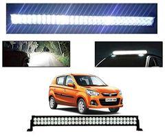 After Cars Maruti Suzuki Alto K 10 22 Inch 40 LED Roof Bar Light, Fog Light