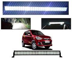 After Cars Maruti Suzuki Alto K10 22 Inch 40 LED Roof Bar Light, Fog Light