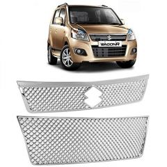 After Cars Maruti Suzuki Wagon R 2015 Front Car Grill Cover