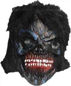 PTCMART Mask Color Full Teeth HALLOWEEN 03 SCARY PARTY GHOST MASK (pack of 1) Party Mask  (Multicolor, Pack of 1)