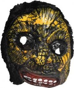 PTCMART  Mask Colorful HALLOWEEN SCARY PARTY GHOST MASK , Party Mask  (Multicolor, Pack of 1)