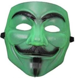 PTCMART Mask Green For Kids, Comic Mask Party Mask  (Multicolor, Pack of 1)