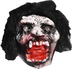 PTCMART Mask Open Mouth HALLOWEEN SCARY PARTY GHOST MASK 08 (pack of 1) Party Mask  (Multicolor, Pack of 1)
