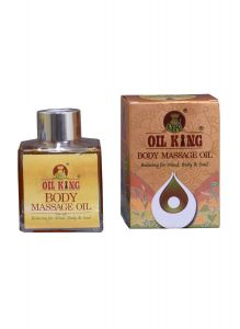 Body Massage Oil King 100% Natural and Chemical Free For Body Massage (100 ML) (Pack of 1)