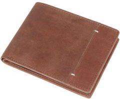 Men Brown Genuine Leather RFID Wallet  (8 Card Slots)(Pack Of 1)