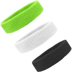 KGN Cotton Sports Headband for Men and Woman for Cricket Tennis and All Other Sports (Multicolor, Pack of 3)