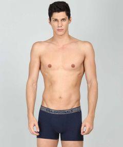 JOCKEY Super Combed Cotton Elastane Stretch Trunks For Men's (Navy Blue) (Pack of 1)