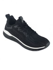 Furo Men's Casual Wear, Best In Quality & Comfortable To Wear Lace-up Walking Shoes - W-3031 (Black)