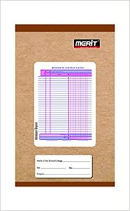 Merit Attendance Register (Soft cover) 32 Pages (Pack Of 25)