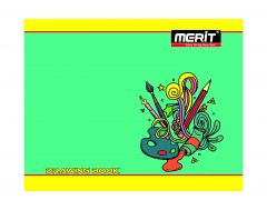 Merit Drawing Book plain 96 Pages (Pack Of 10)