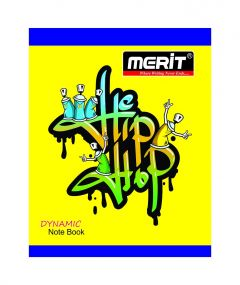 MERIT DYNAMIC NOTE BOOK SINGLE LINE 72 Pages (Pack Of 20)