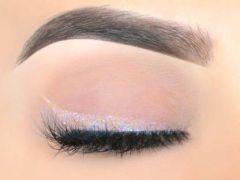 Flikerway All Skin Type Eye Makeup Cosmetics Metallic Powder Gel Pigment Shining Glitter Eyeshadow 10g (White 01) (Pack of 1)