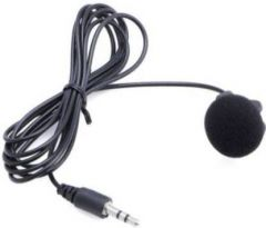 QT_3.5mm Collar Microphone For Lapel Mic Mobile, PC, Laptop, Android Smartphones, DSLR Camera (Black)