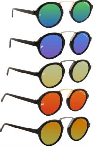 Trendy & Cool 100% UV Protection Round Sunglasses For Unisex (Pack Of 5)