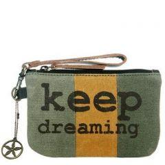 ASPENLEATHER Melange Mini Wristlet Bag