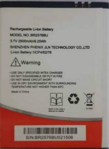 High-Quality 3800 mAh Rechargeable Mobile Battery Compatible For Intex Aqua Power 4G (Pack of 1)