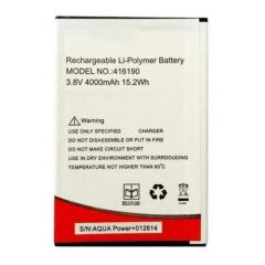 High-Quality 4000 mAh Rechargeable Mobile Battery Compatible For Intex Aqua Power Plus (Pack of 1)