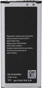 High-Quality 2100 mAh Rechargeable Mobile Battery Compatible For Samsung Galaxy S5 EB-BG900BBC/EB-BG900BBU (Pack of 1)