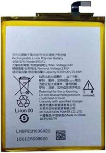 High-Quality 4000 mAh Rechargeable Mobile Battery Compatible For Nokia 2.1, HE-341 (Pack of 1)