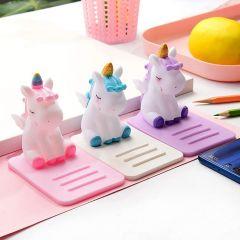 Homeoculture Unicorn Mobile Holder For Girls Stylish Mobile Holder