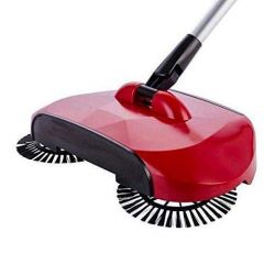 360 Rotary Sweeper Floor Dust Cleaning Mop Broom with Dustpan